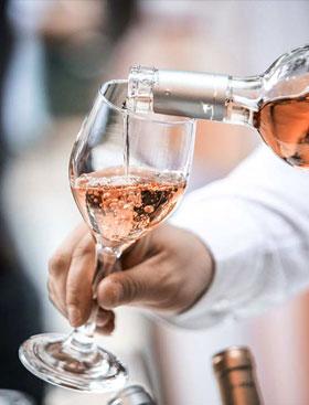 Les vins rosés plus gourmands et très fruités