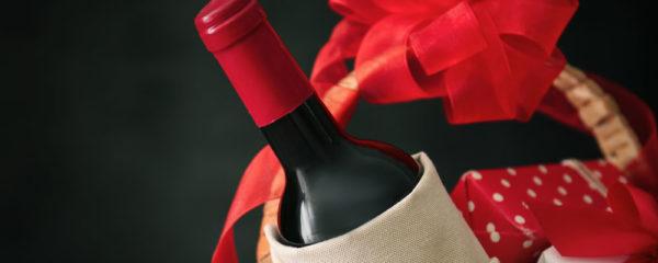 Panier de vins